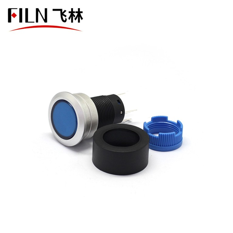 FILN Professional Production Of The Plastic Button Switch Waterproof With Light