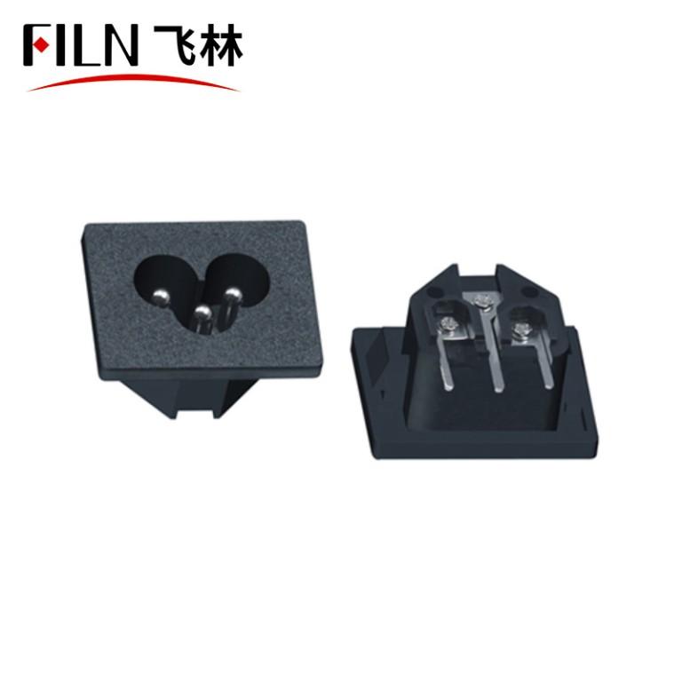 IEC C6 Socket 2.5A 250V AC Power Socket Manufacturers Direct Selling