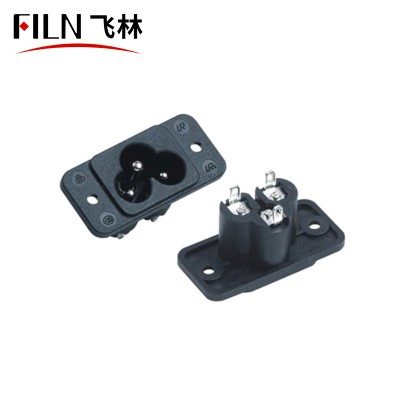 Male Female Connector Types 250V AC Socket Manufacturers Direct Selling