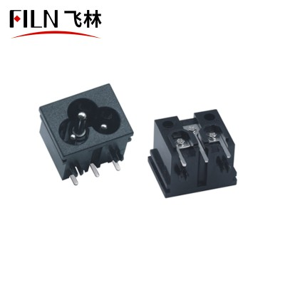 IEC C6 Socket 2.5A 250V AC Socket Manufacturers Direct Selling