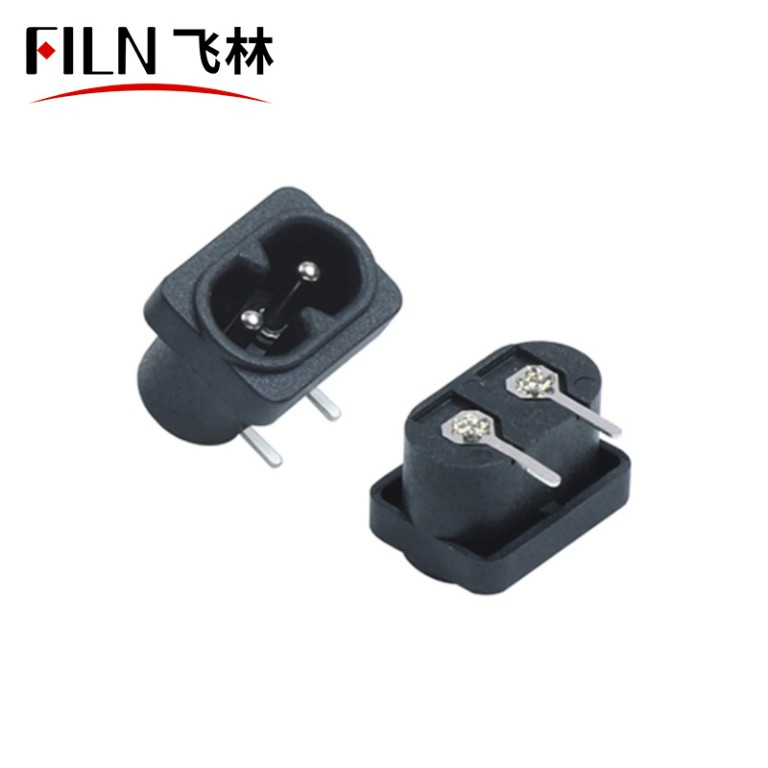 Universal Outlet Receptacle AC Power Outlet 2 Pins