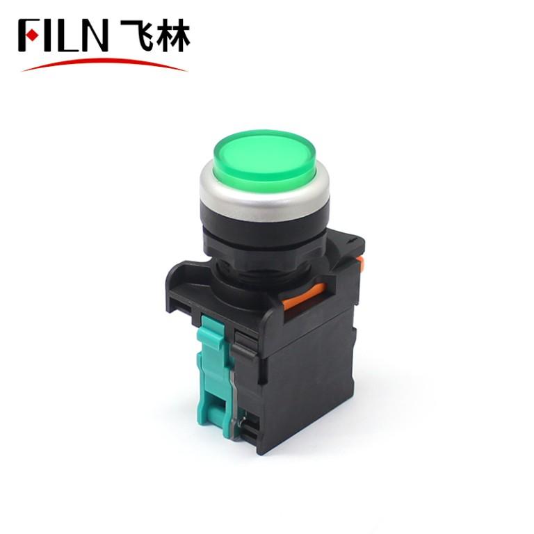 Tall Head Illuminated on off Switch Button IP65 Waterproof Switch