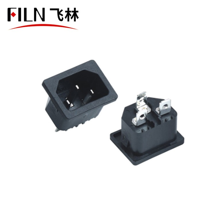 Mount US Receptacle Socket Electric Outlets Terminal Wiring