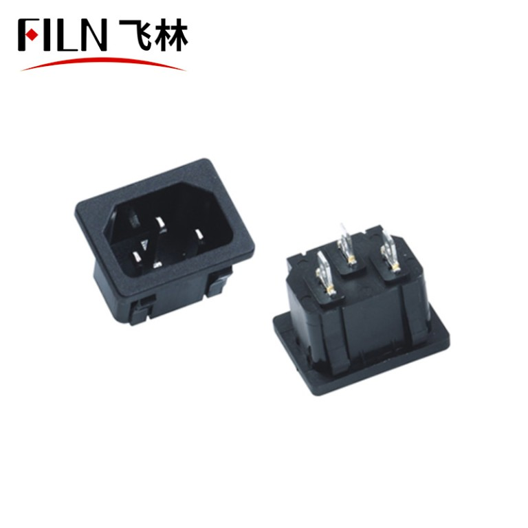 Outside Electrical Outlet Interfaces are Diverse 3 Pin IEC