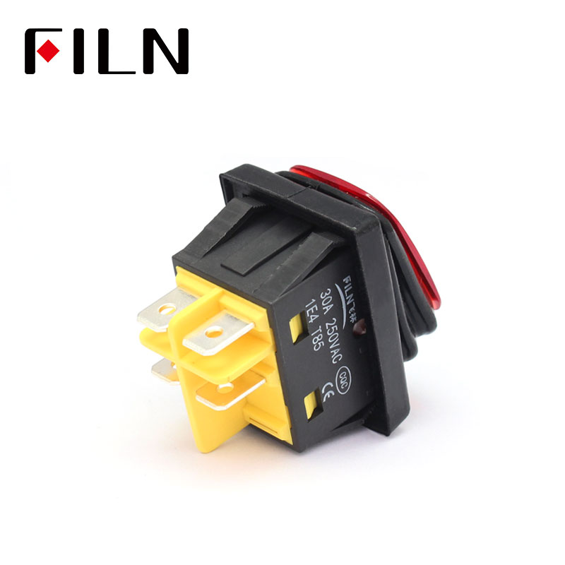 heavy duty IP67 waterproof rocker switch