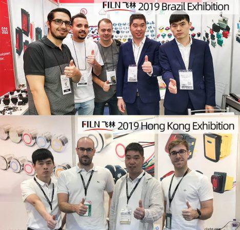 2019 push button switch exhibition