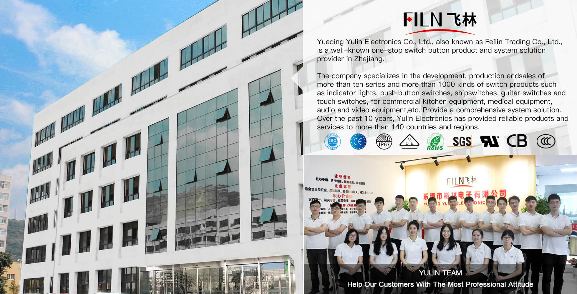 Filn switch factory