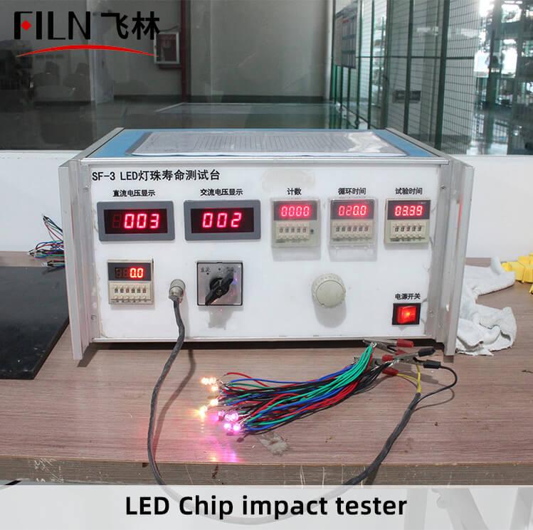 LED-Chip-impact-tester