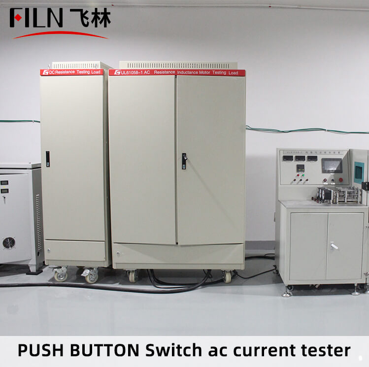 PUSH-BUTTON-Switch-ac-current-tester