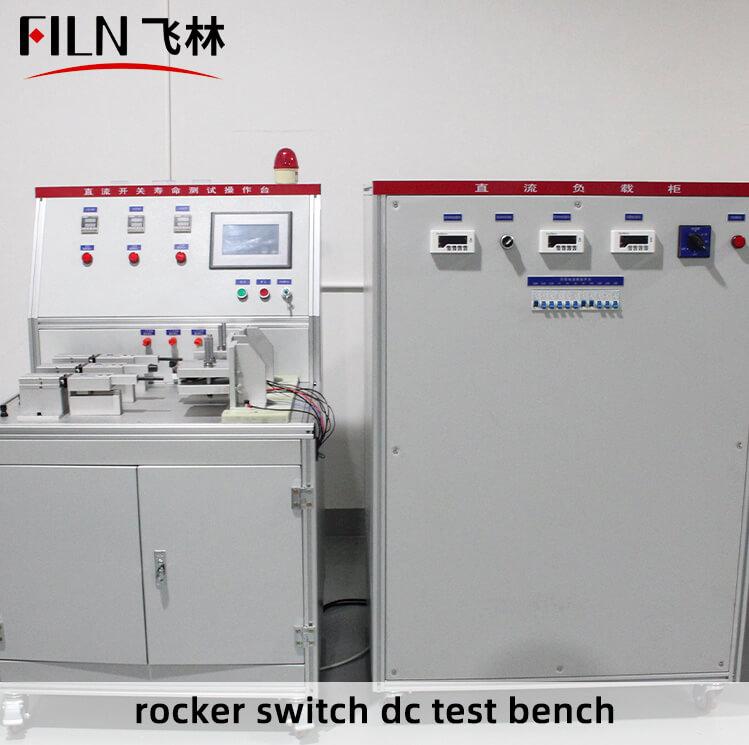 rocker--switch-dc-test-bench