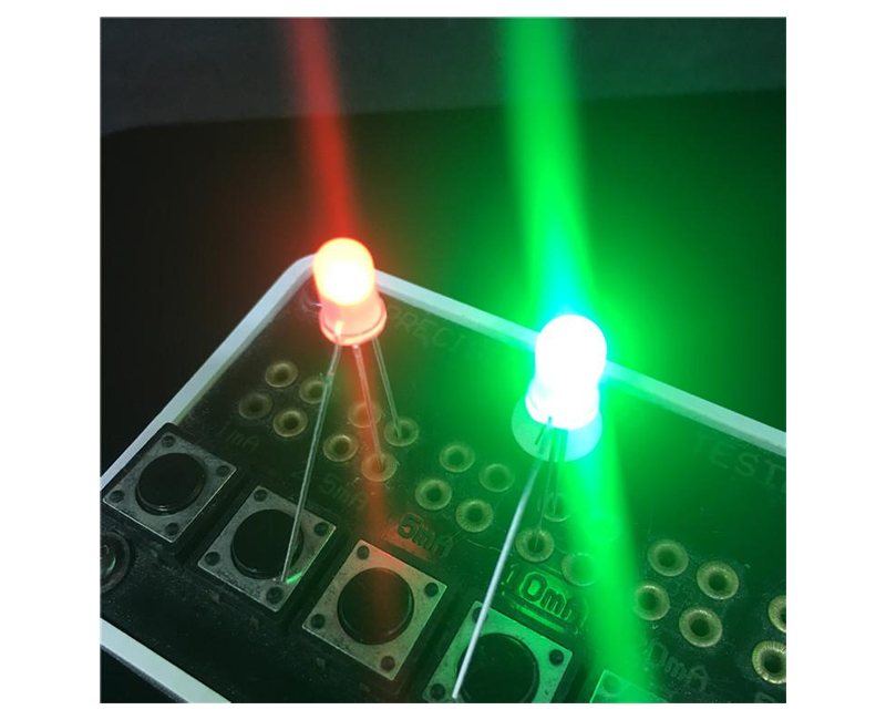 Two-color indicators