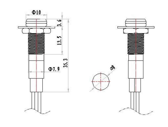 10mm indicator