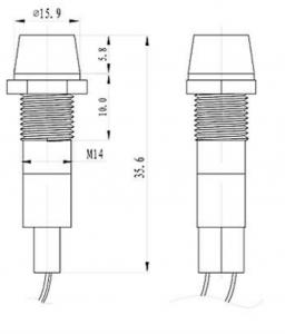 24V led indicator light