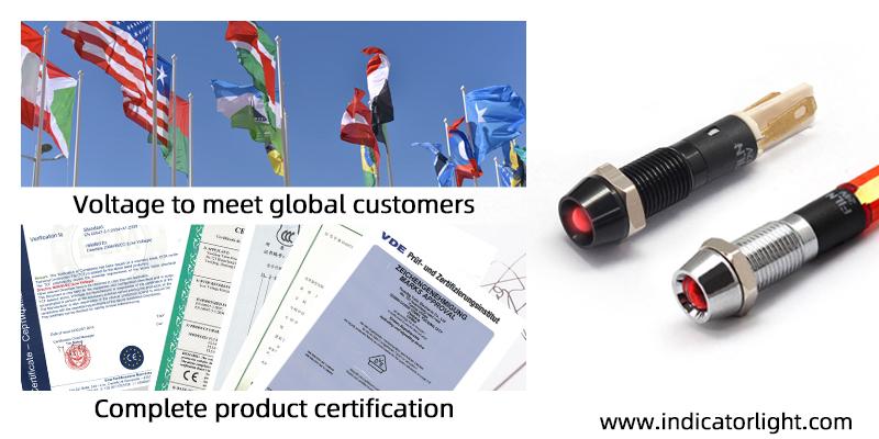 Indicator certification