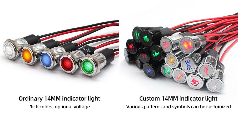 difference between ordinary indicators and custom indicators