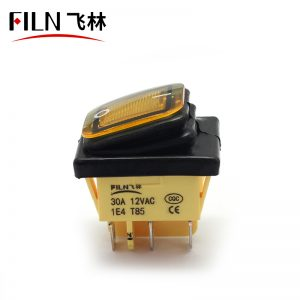 IP67 Waterproof Rocker Switch