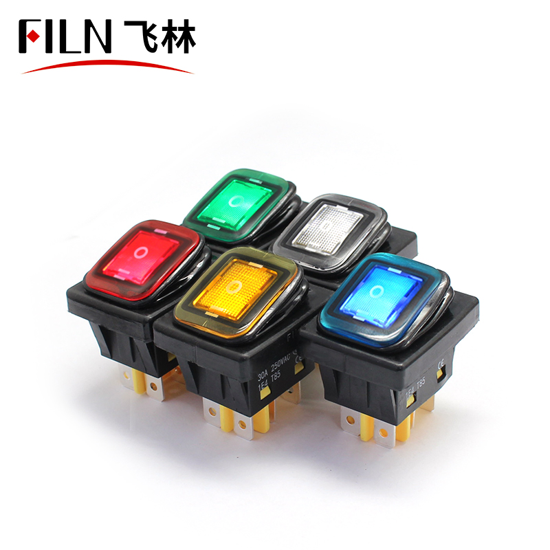 led rocker switch