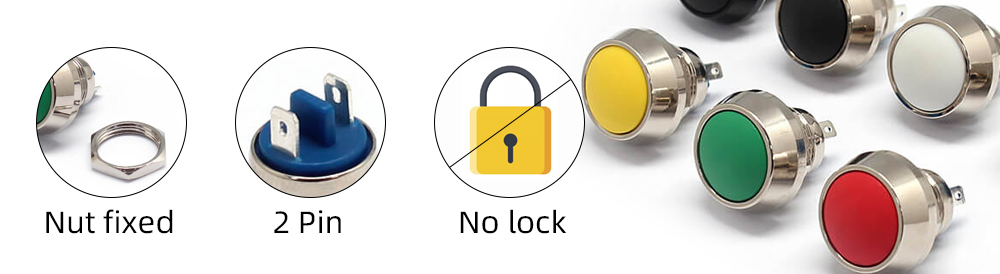 Advantages of button switch
