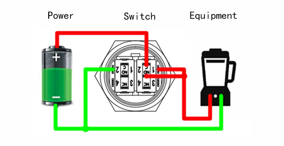 Button wiring diagram