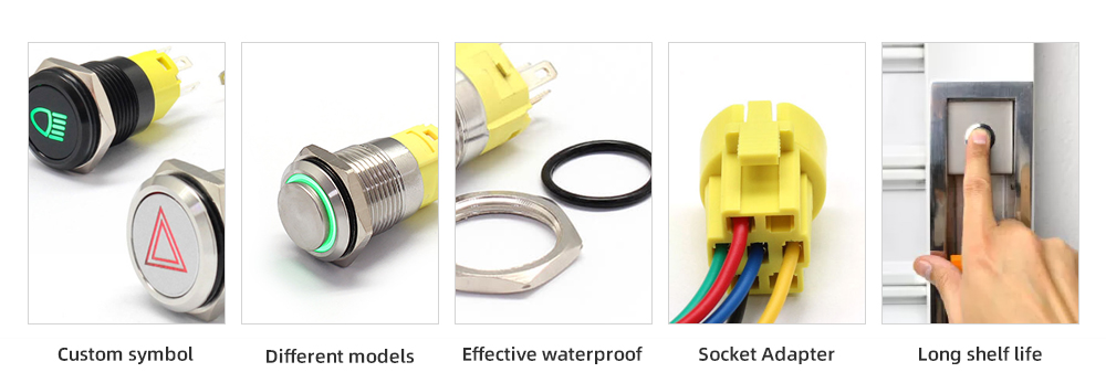High quality push button switch