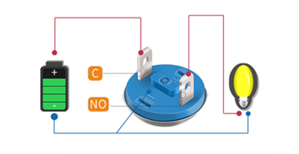 How to wire the push button switch