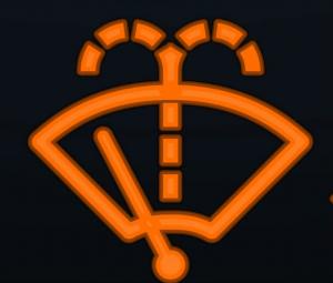 Indicator light symbol