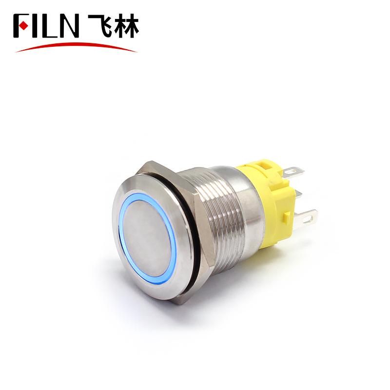 19mm RGB Pushbutton Switch