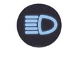 Symbol indicator light