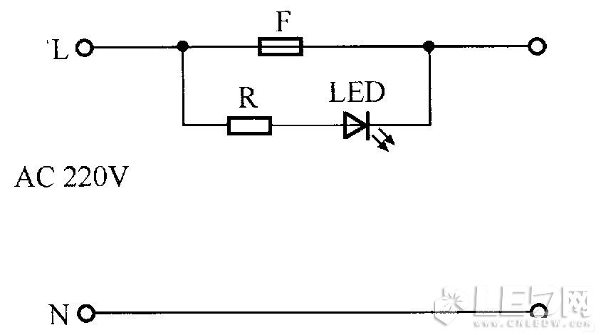 Fuse socket indicator circuit