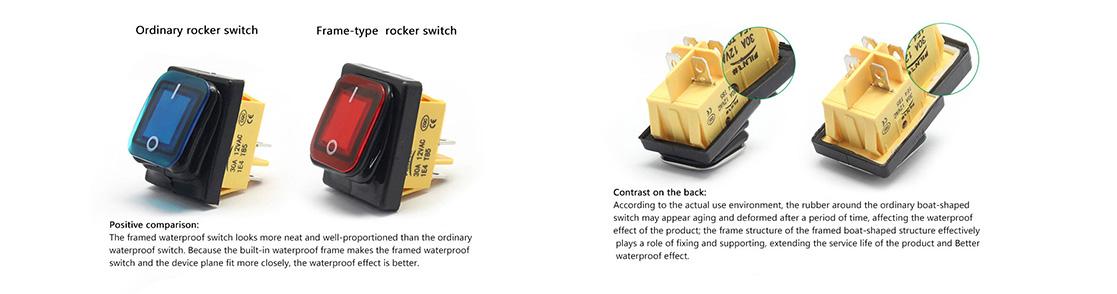 Rocker switch accessories