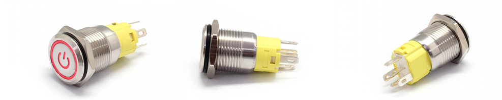 LED-push-button-switch
