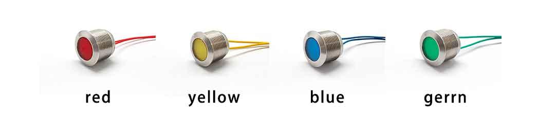 19mm indicator light