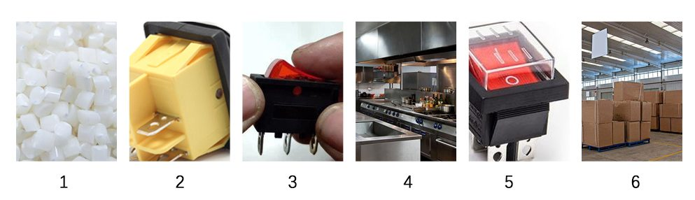 LED Rocker switch