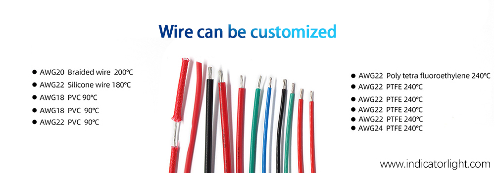 Wire can be customized