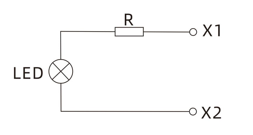 10MM Mini Red 230V Panel Mount LED Indicators