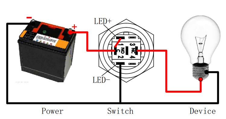 wire a starter switch