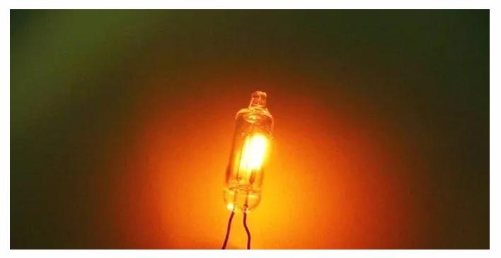 Neon bulb lights up